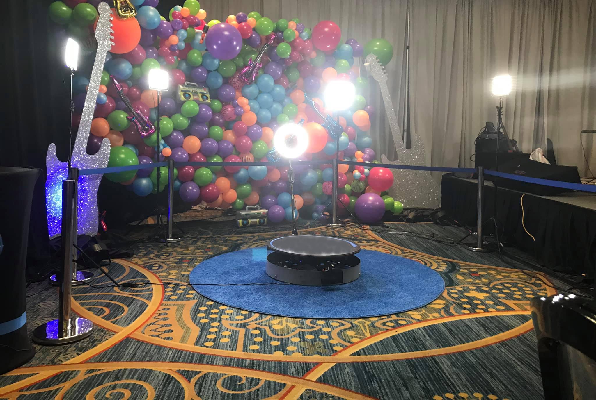fotobudka 360 3d spinner